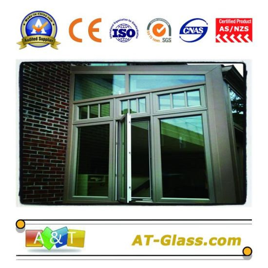 4mm, 5mm, 6mm Reflective Float Glass/ Reflecting Glass/ Coated Glass/ Float Glass Tinted Glass/ Colored Glass Used for Buildings pictures & photos