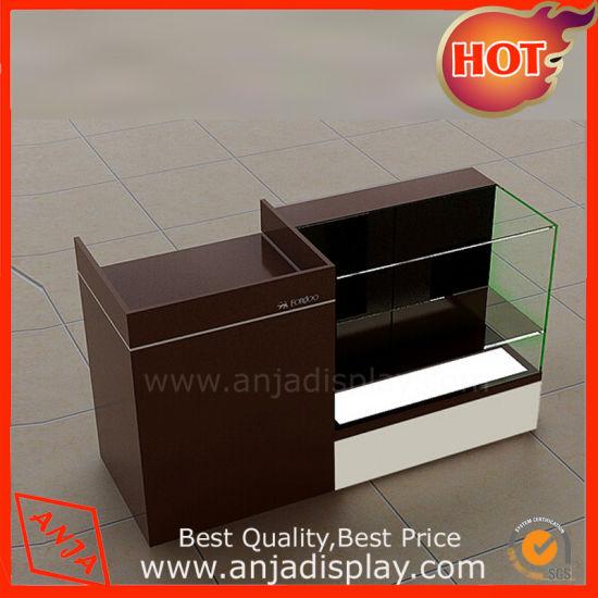 Top Grade Cashier Counter Table Register Desk for Shop - China