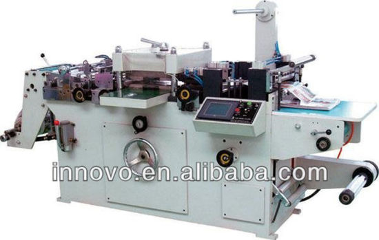 Automatic Continuous Free Adhesive Tape Die Cutting Machine pictures & photos