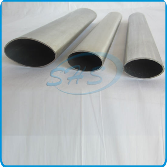 Stainless Steel Elliptical Oval Tubes (Pipes) pictures & photos