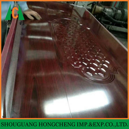HDF Molded Melamine Door Skin pictures & photos