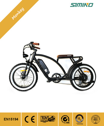 """20"""" Fat Tyre Pocket Electric Bicycle for Beach"""