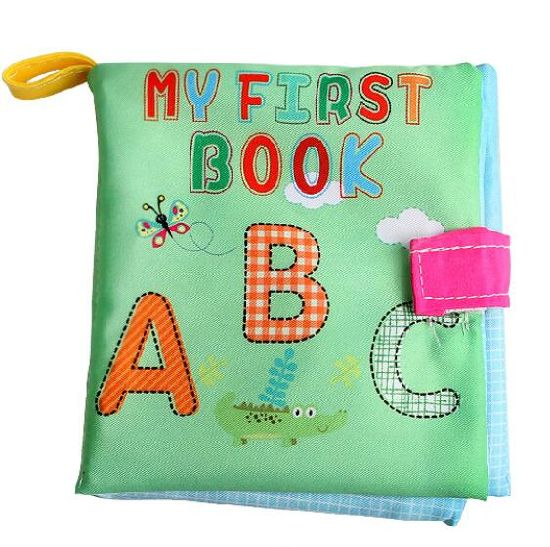 High Quality Best Sale Baby Educational Cloth Book