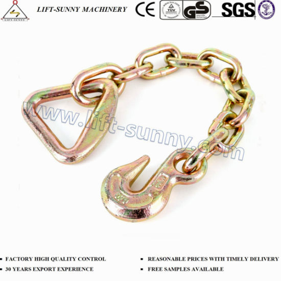 G70 Transport Chain with Eye Grab Hook and Delta Ring