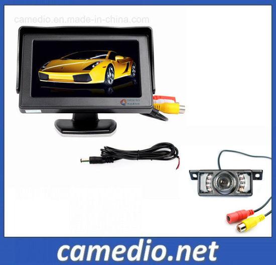 "Car Parking System 4.3"" TFT Monitor+7IR Night Vision Backup/Reverse Camera"