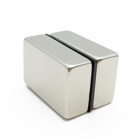 High Quality N45 Block Neodymium Magnetized Magnet for Printer