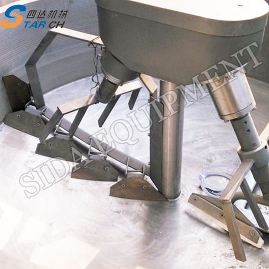 China Stainless Steel Electric Cassava Garri Fryer, Garri Processing