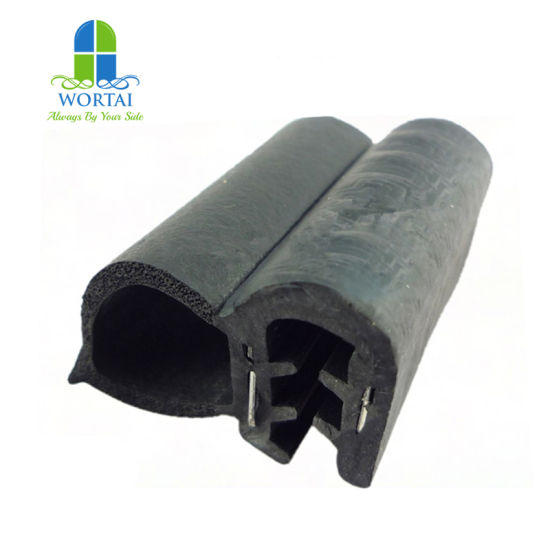 Extruded Automotive Glass Metal Insert EPDM Sponge Seals for Car Door and Window Rubber Strip pictures & photos
