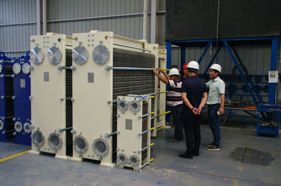 Heat Exchanger for Water Paper Steel Oil Gas Sugar Food Chemical Industry Plate Heat Exchanger pictures & photos