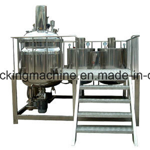 No  1 Vacuum Homogeneous Mixer Machine for Medical Sterile Ultrasound Gel  Making Machine, Ultrasound Gel Production Line