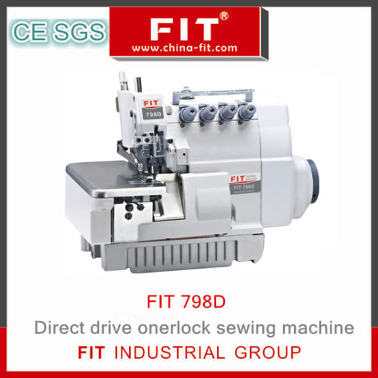 New Design Drict Drive Overlock Sewing Machine Fit 798d