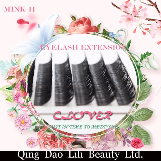 d2d067333f8 Professional 100% Hand Made Mink Eyelash Extension 8-13mm Black Individual  Eyelashes pictures &