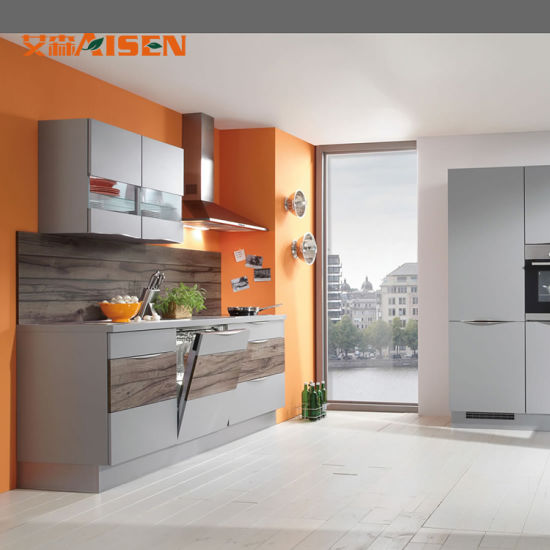 China 2018 Artificial Stone Counter Top Small Kitchen Design Color Flat Pack Kitchen Cabinets China Kitchen Cabinet Matt Kitchen Cabinet