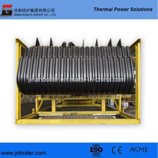 China ASME or Ce Membrane Water Wall of 50 T/H CFB Boiler Water ...