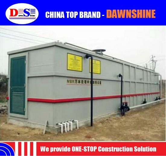 Sewage Waste Water Treatment Plant for Restaurant pictures & photos