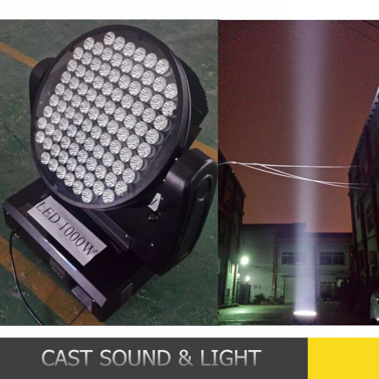 china high power outdoor rgbw 1000w led beam moving head light