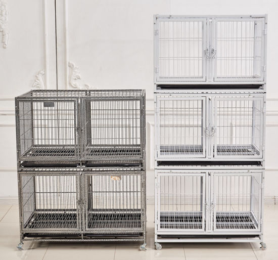 Multi-Layer Detachable Veterinary Farm Pet Dog Cat Stainless Steel Cage pictures & photos