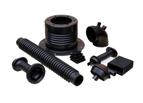 Custom Silicone/Rubber/NBR/EPDM/FKM/Viton Molded Auto Parts for Cars/Machines