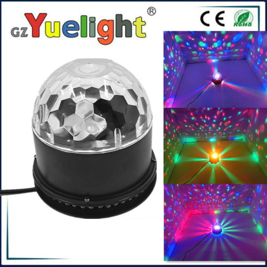 Mini LED Sunflower Disco Crystal Magic Ball pictures & photos