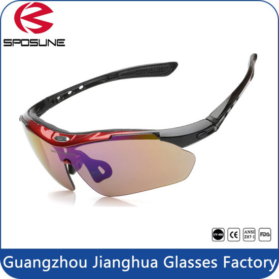 3f46d5f12a9a Outdoor Sports Polarized Cycling Sunglasses Anti UV400 Eye Protective Sun  Glasses in Stock pictures & photos