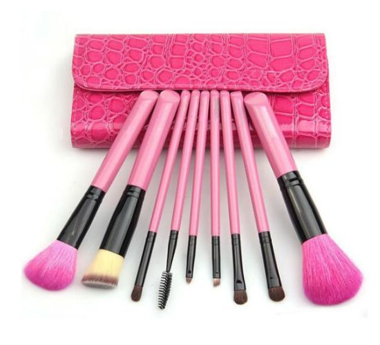 Fanshaped Customized Comfortable Cosmetic Makeup Brush Tools pictures & photos