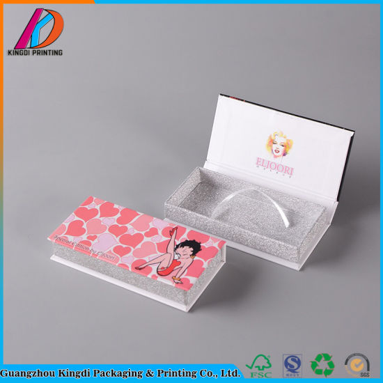 High Quality Small Hard Cardboard Magnetic Gift Paper Box Packaging