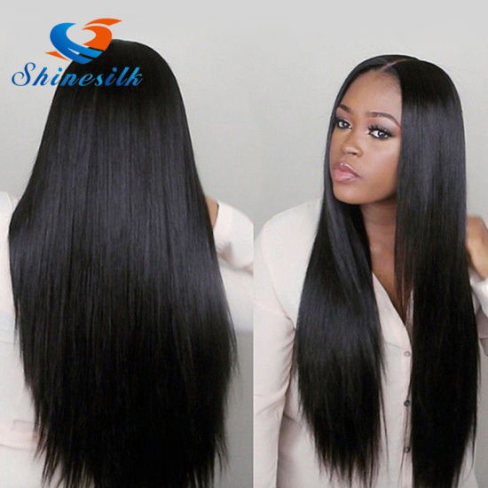 Women Hair 3 Bundles Deals Indian Straight Hair Extension Remy Hair Weaving  100% Human Hair Bundles Natural Color in Stock e103887af