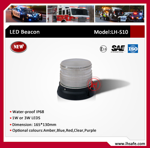 New LED Beacon with 1W or 3W LEDs (LH-S10) pictures & photos