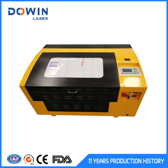 Best Quality 40W 50W Mini Laser Engraving Machine Laser Cutting Machine for Non-Metal Leather Wood CO2 Laser Cutting Machine