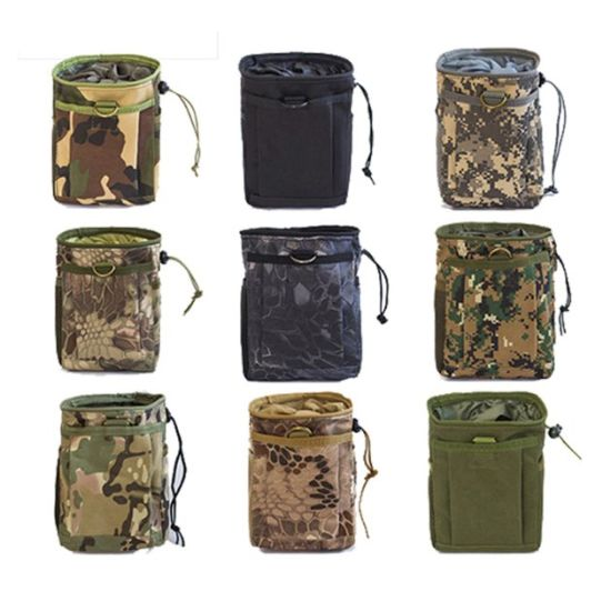 Wholesale Small Army Hunting Utility Cordura Waist Bag Custom Molle Military Tactical Pouch