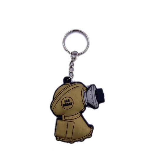 Innovative Design Soft PVC Keychain/Key Holder