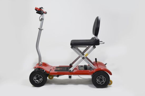 Hot Sale Remote Control Foldable Mobility Scooter with Ce and FDA Approved