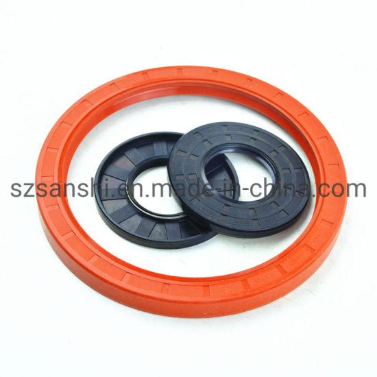 OEM Custom Heat Resistant NBR Viton FKM FPM Silicone Oil Seal