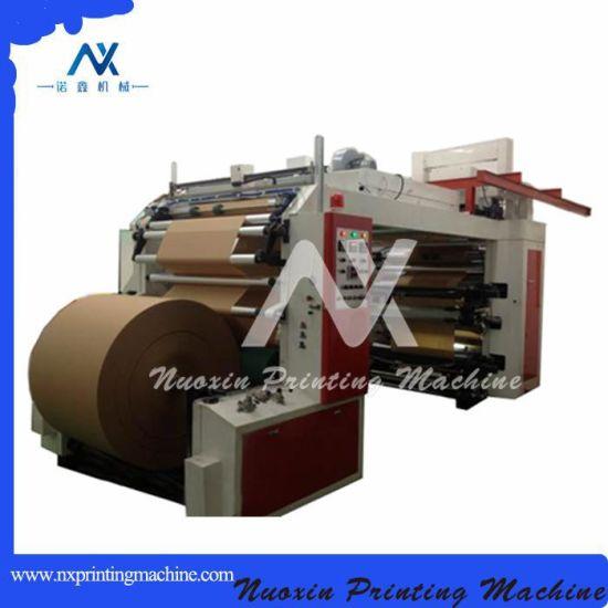 4 Color Roll Copy Paper Thermal Paper Bag Flexo Printing Machine