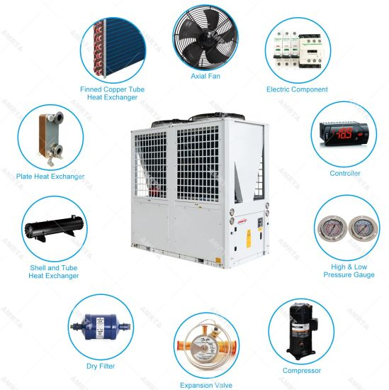 China Made Plastic Modular Unit Industrial Air Cooled Chiller for Wholesale