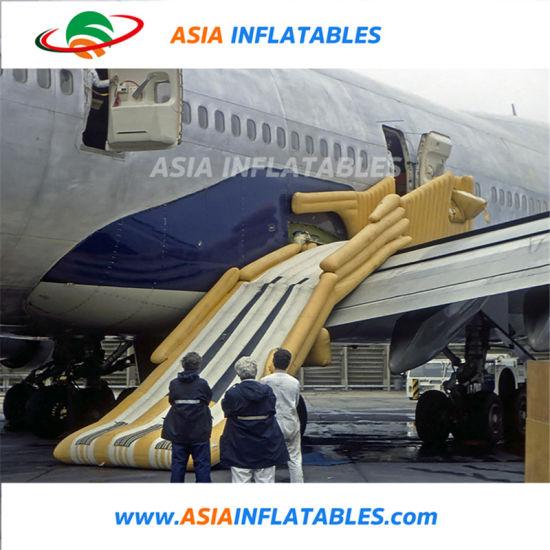 China Slide Door Evacuation Slide / Inflatable Emergency