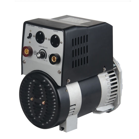 6kw 7kw 8kw 200A 230A 250A DC Welder AC Alternator Brushes AVR Synchronous 2pole Self-Exciting Gsa-Dwy Ce Certificate