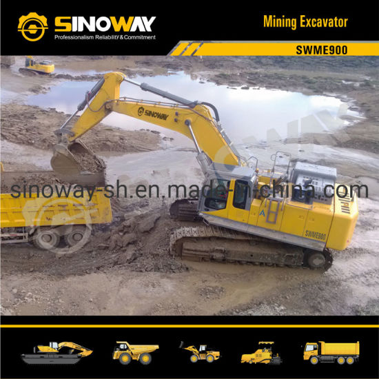 90ton Operating Weight Mining Shovel with 3.5 M3 Bucket pictures & photos