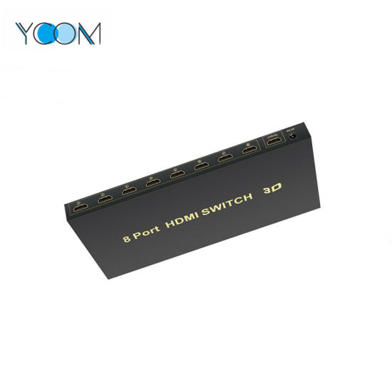 YCOM HDMI Switch 1in 8 out 1080P Switch for HD pictures & photos