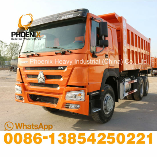 Excellent Condition Fairly Used Sinotruck HOWO Dump Truck 6X4 Tipper Truck 371HP for African Market