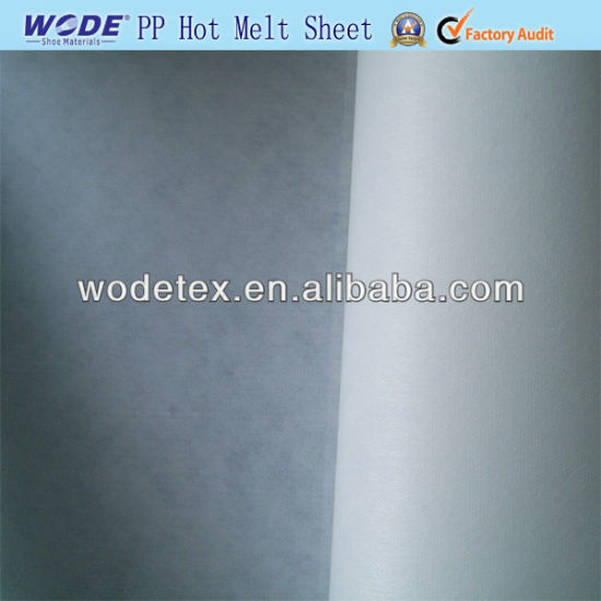 Wodetex Adhesive Termo Ping Pong Hot Melt Sheet for Shoe Toe Puff and Counter