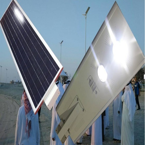 Solar Battery Charge All in One Solar Type Streetlights Integrated Solar LED Street Light