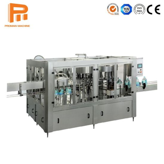 6000bph Drinking Water Production Line Mineral Water Plant Machine
