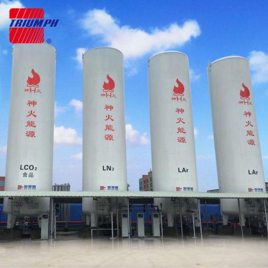 2019 Hote Sale Lox/Lin/Lco2/Lar Cryogenic Storage Tank
