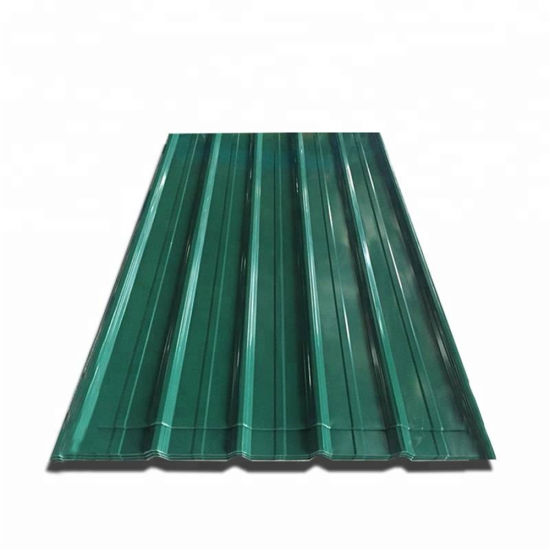 PPGI Ral Color Coated Galvanized Metal Roofing Sheet
