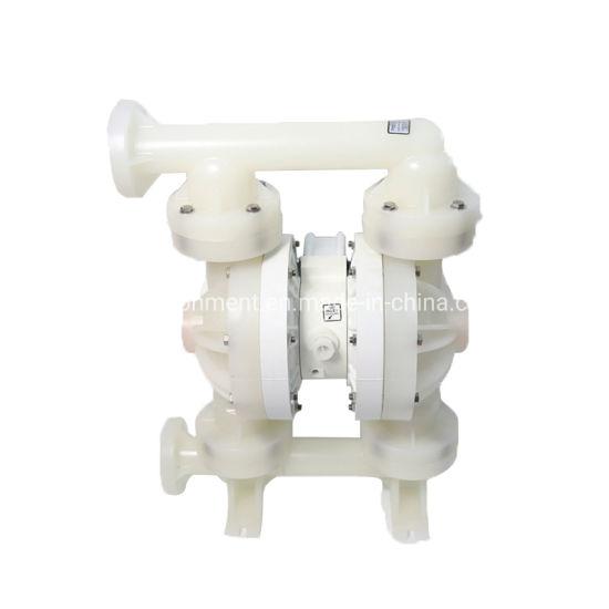 Plastic Chemical PVDF Rubber Double Diaphragm Pump
