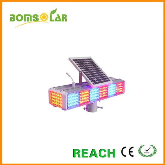 Led Sets Four Sides Solar Flashing