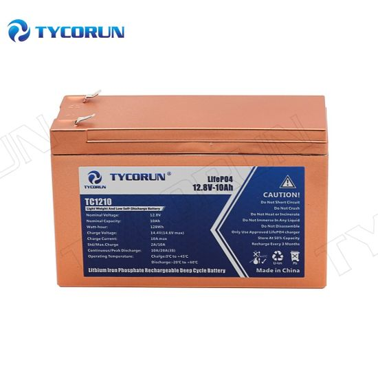 Tycorun Lithium Iron Phosphate Battery LiFePO4 Motorcycle Batteries Solar Battery Pack