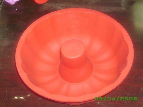 Orange Silicone Form for Kitchen Use