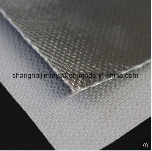 Thermal Protection Aluminum Coated Fiberglass Heat Reflective Fabric
